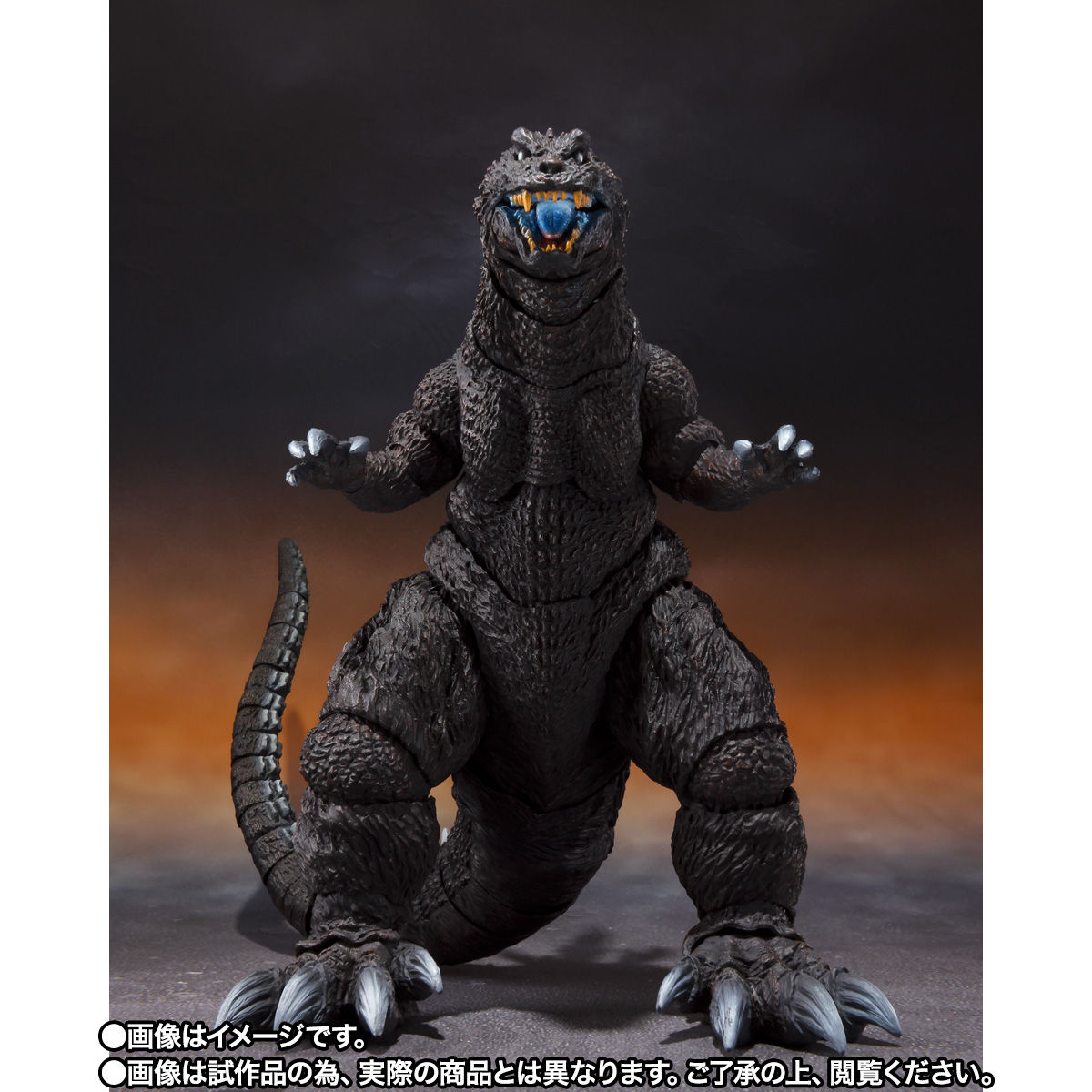 【限定販売】S.H.MonsterArts『ゴジラ(2001)放射熱線Ver.』大怪獣総攻撃 可動フィギュア-007