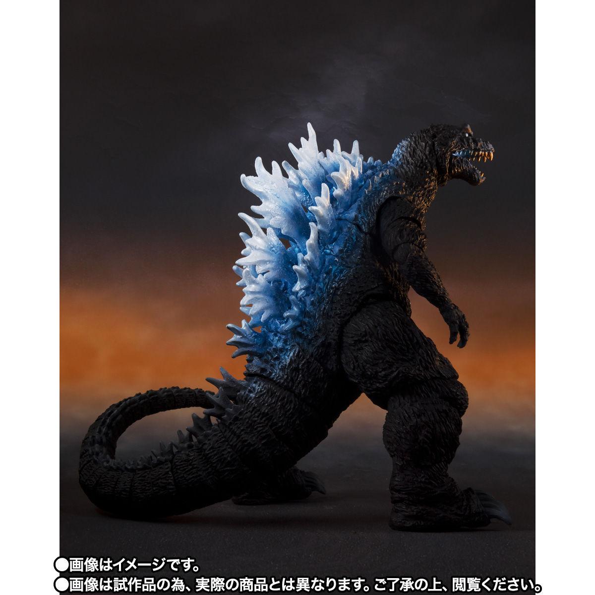 【限定販売】S.H.MonsterArts『ゴジラ(2001)放射熱線Ver.』大怪獣総攻撃 可動フィギュア-008