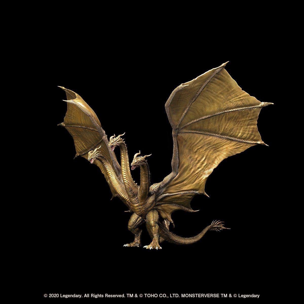 超激造シリーズ『キングギドラ(2019)』ゴジラ キング・オブ・モンスターズ 完成品フィギュア-008