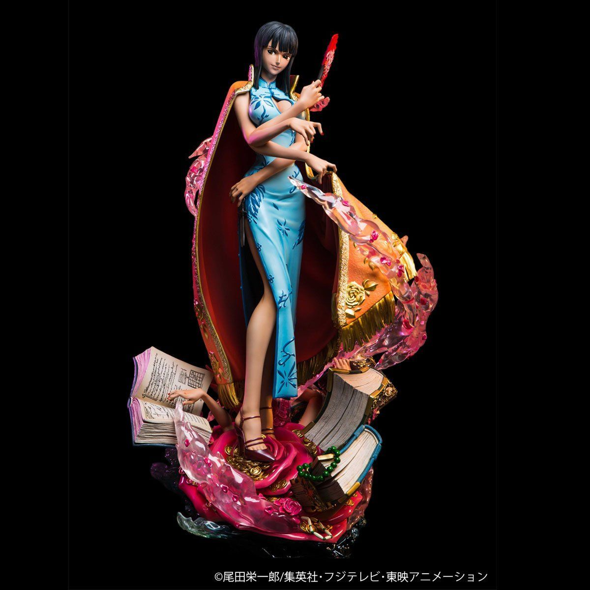 ワンピース ログコレクション 大型スタチューシリーズ『ニコ・ロビン』完成品フィギュア-004