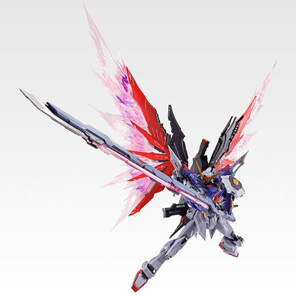 【限定販売】METAL BUILD『デスティニーガンダム SOUL RED Ver.』機動戦士ガンダムSEED DESTINY 可動フィギュア