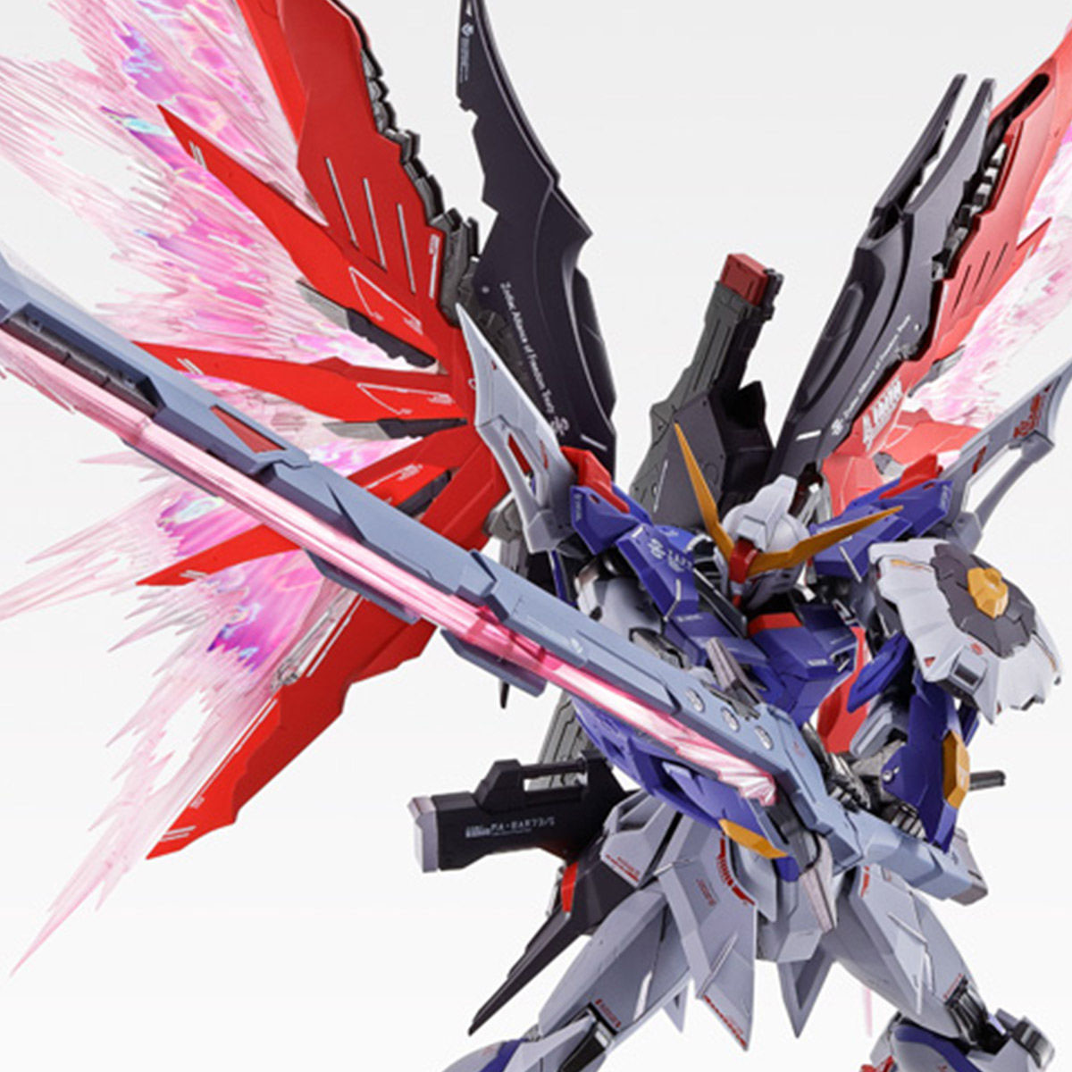 【限定販売】METAL BUILD『デスティニーガンダム SOUL RED Ver.』機動戦士ガンダムSEED DESTINY 可動フィギュア-001