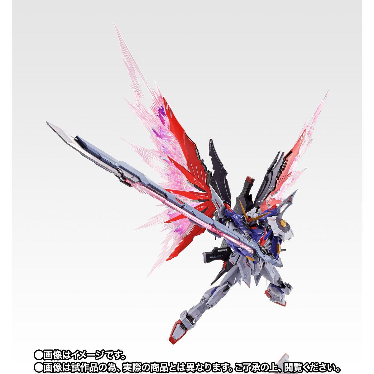 【限定販売】METAL BUILD『デスティニーガンダム SOUL RED Ver.』機動戦士ガンダムSEED DESTINY 可動フィギュア-002
