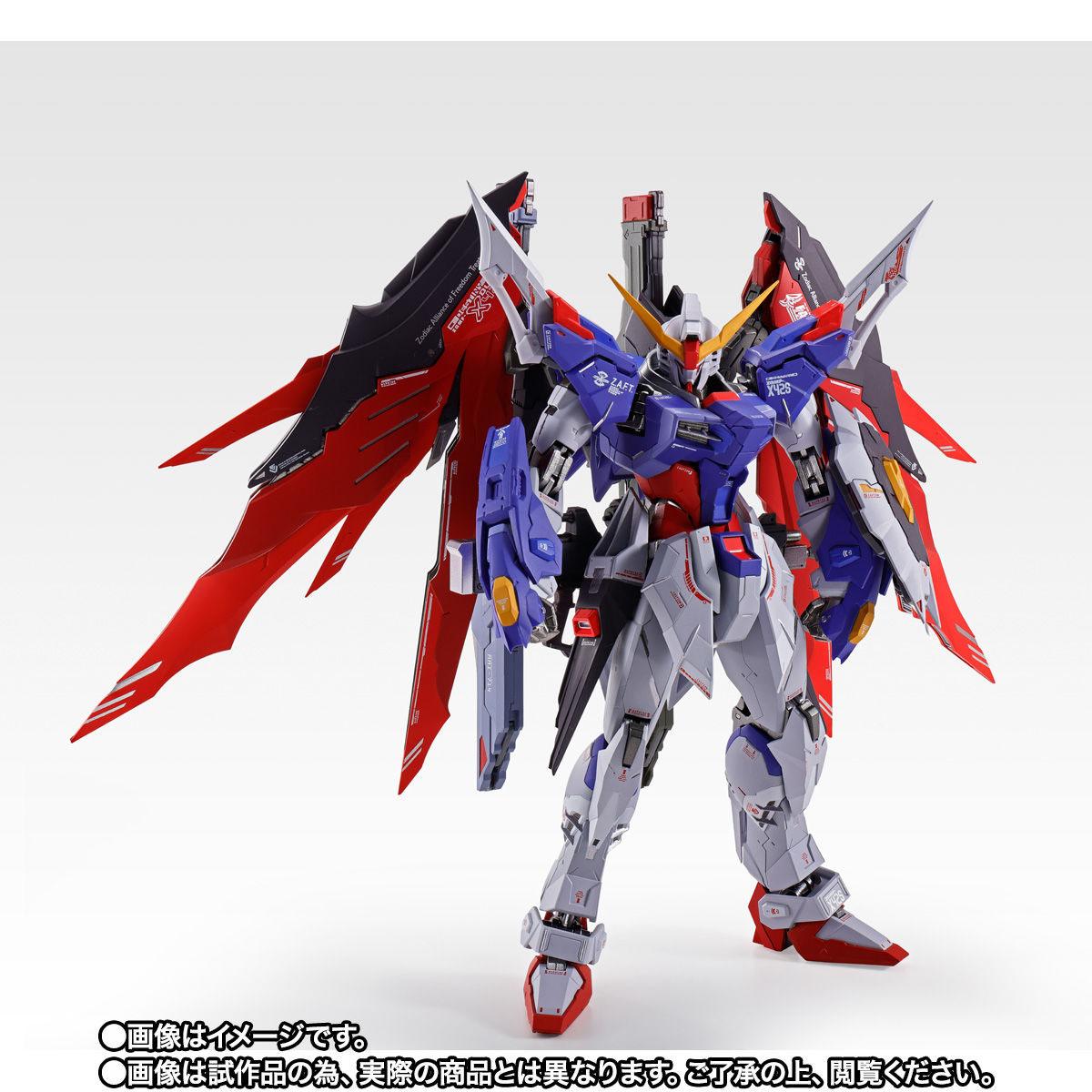 【限定販売】METAL BUILD『デスティニーガンダム SOUL RED Ver.』機動戦士ガンダムSEED DESTINY 可動フィギュア-003