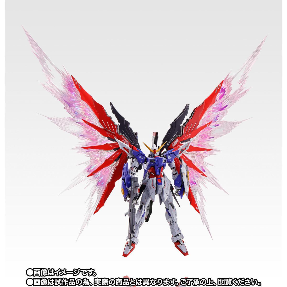 【限定販売】METAL BUILD『デスティニーガンダム SOUL RED Ver.』機動戦士ガンダムSEED DESTINY 可動フィギュア-004