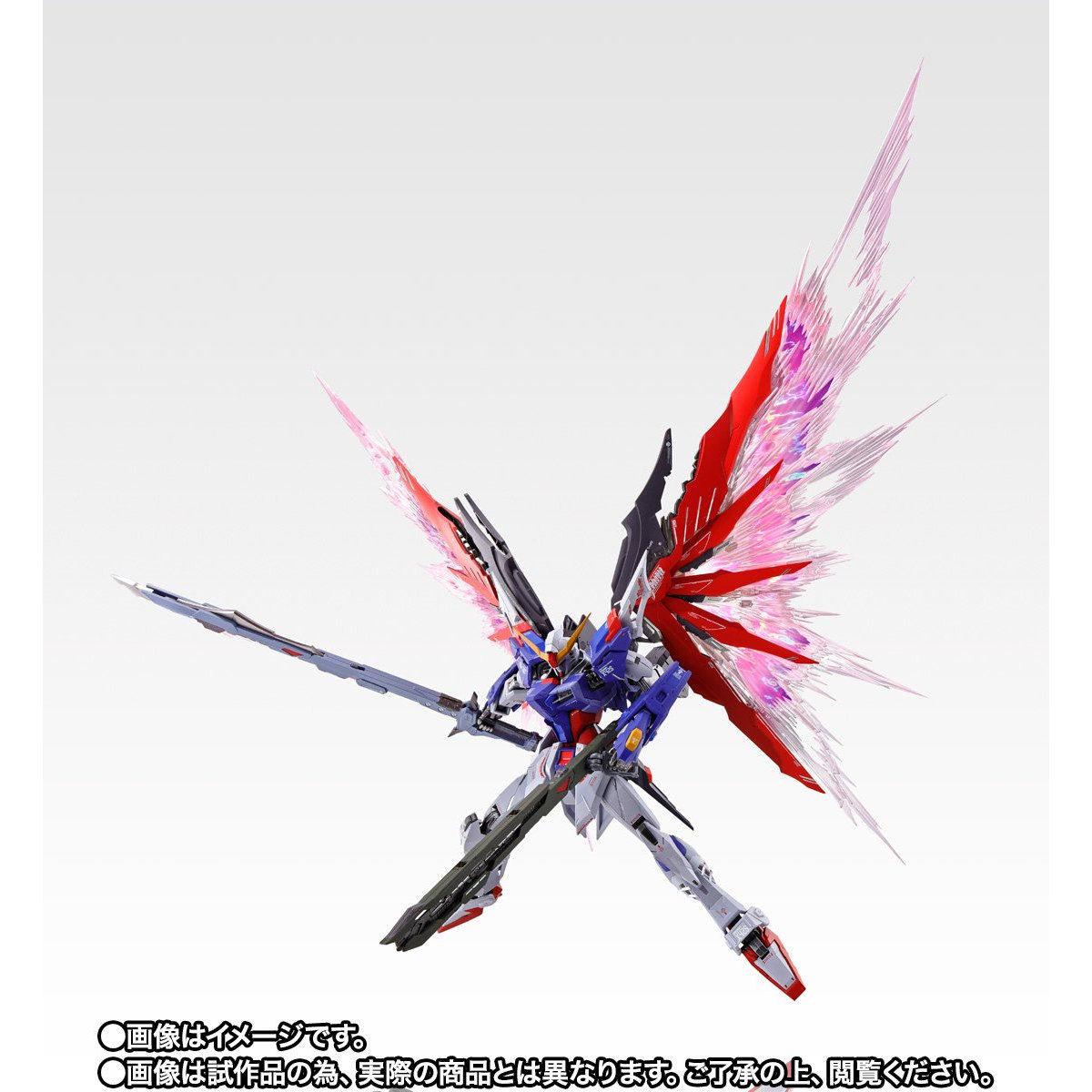 【限定販売】METAL BUILD『デスティニーガンダム SOUL RED Ver.』機動戦士ガンダムSEED DESTINY 可動フィギュア-005