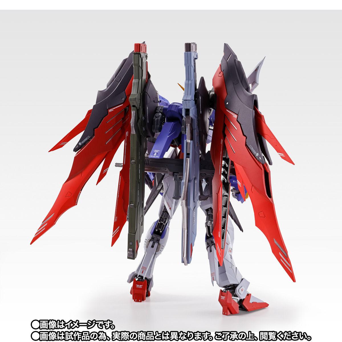 【限定販売】METAL BUILD『デスティニーガンダム SOUL RED Ver.』機動戦士ガンダムSEED DESTINY 可動フィギュア-006