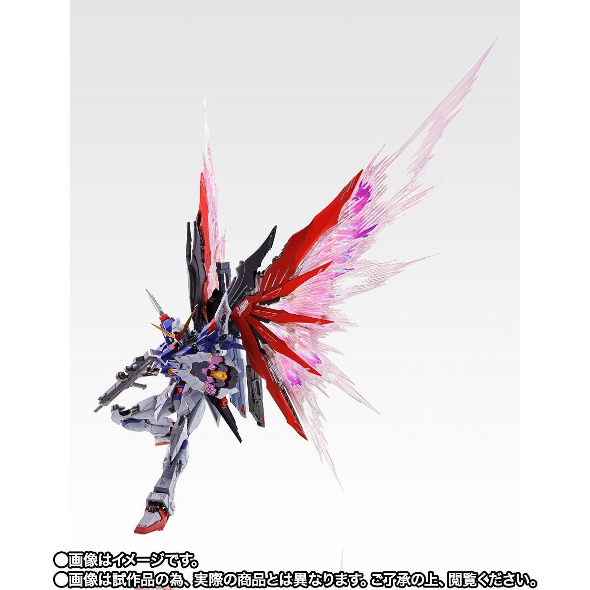 【限定販売】METAL BUILD『デスティニーガンダム SOUL RED Ver.』機動戦士ガンダムSEED DESTINY 可動フィギュア-007