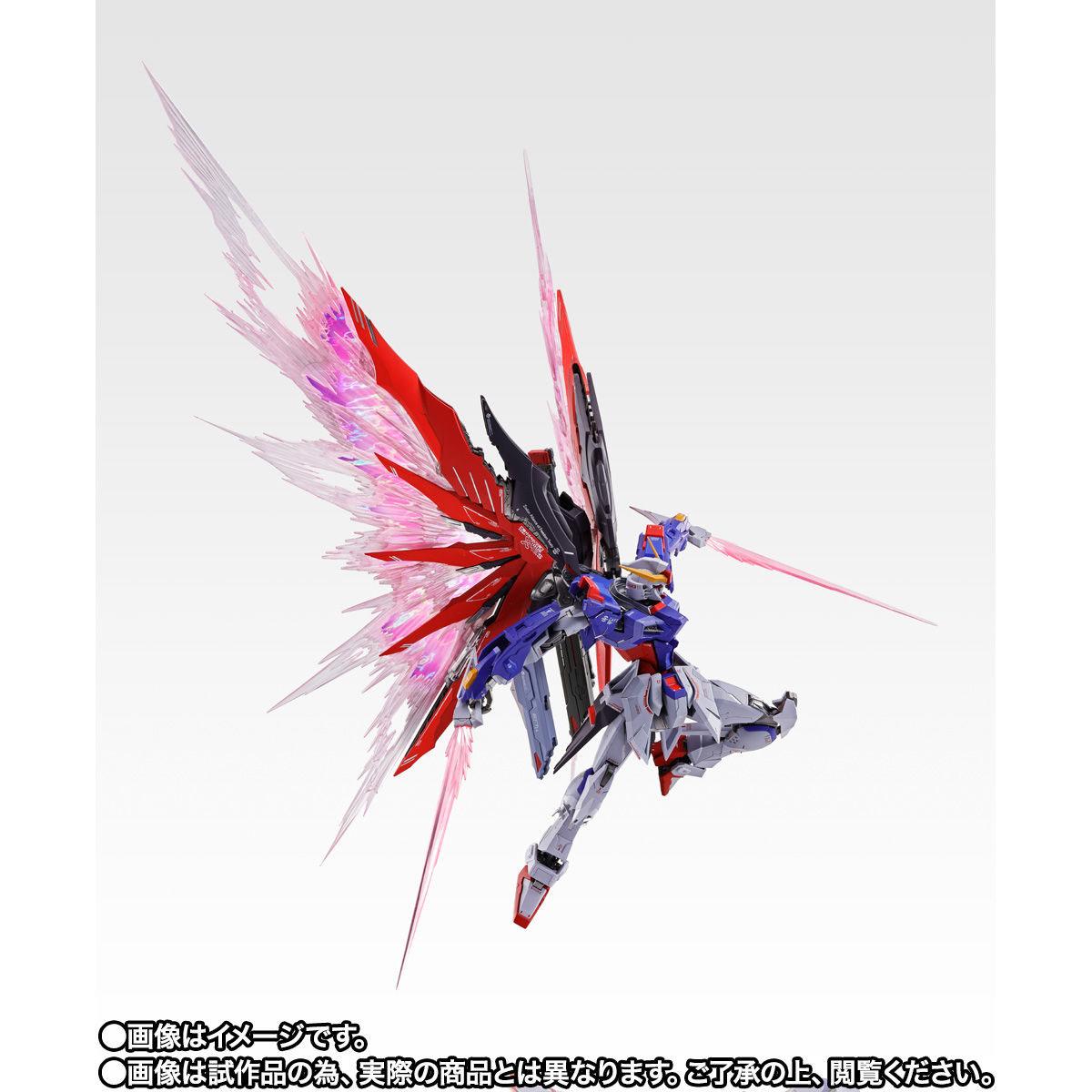 【限定販売】METAL BUILD『デスティニーガンダム SOUL RED Ver.』機動戦士ガンダムSEED DESTINY 可動フィギュア-008
