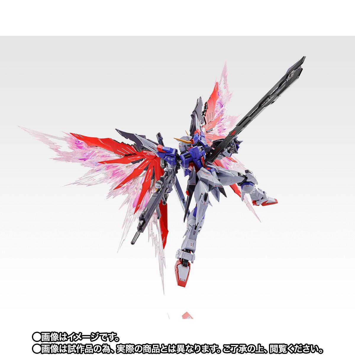 【限定販売】METAL BUILD『デスティニーガンダム SOUL RED Ver.』機動戦士ガンダムSEED DESTINY 可動フィギュア-009