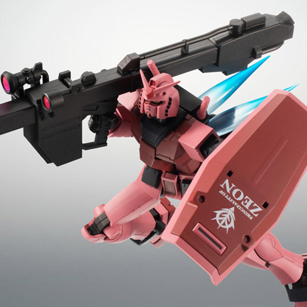 【限定販売】ROBOT魂〈SIDE MS〉『RX-78/C.A キャスバル専用ガンダム ver. A.N.I.M.E.』ギレンの野望 可動フィギュア-001