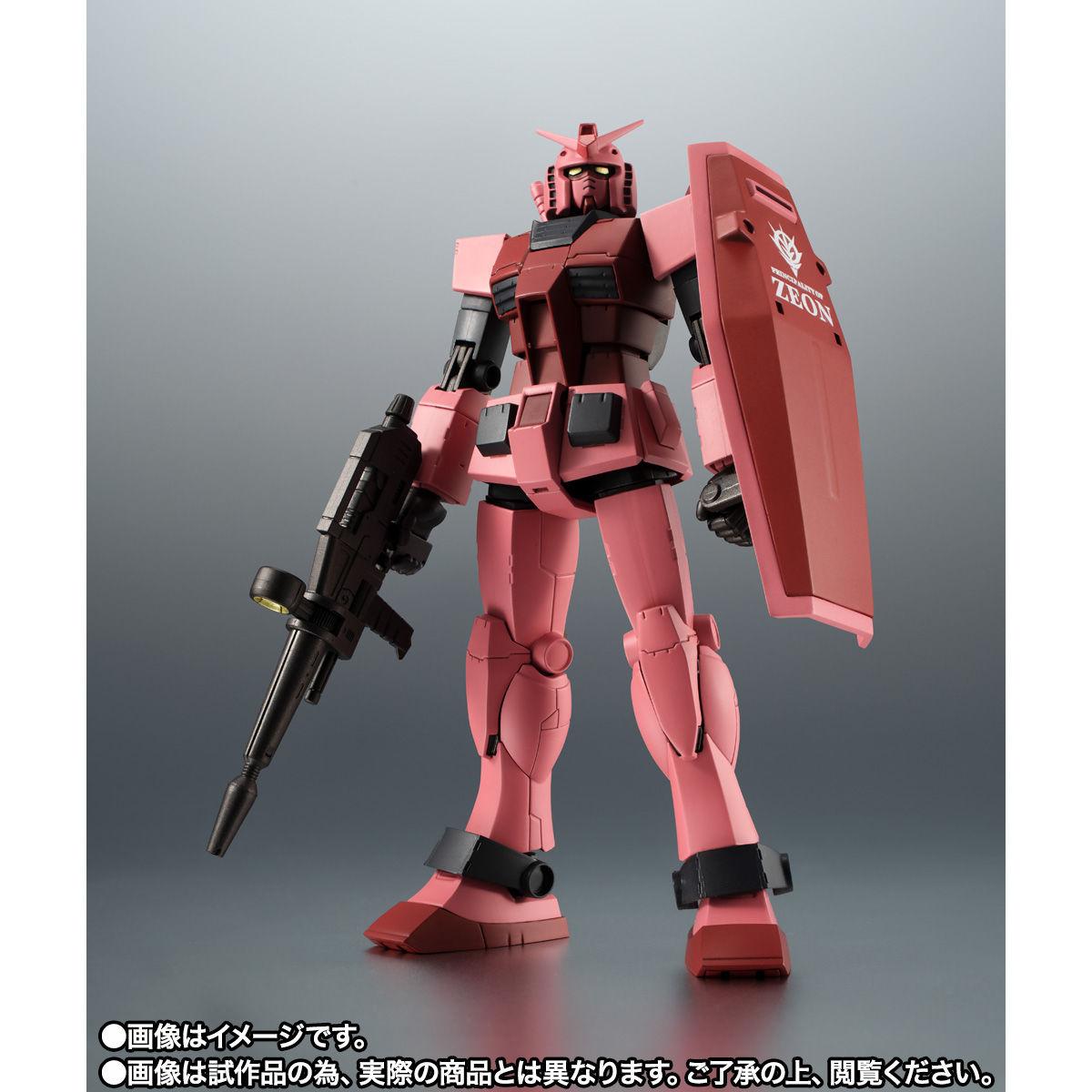 【限定販売】ROBOT魂〈SIDE MS〉『RX-78/C.A キャスバル専用ガンダム ver. A.N.I.M.E.』ギレンの野望 可動フィギュア-002