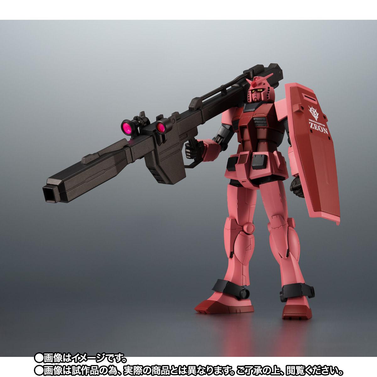 【限定販売】ROBOT魂〈SIDE MS〉『RX-78/C.A キャスバル専用ガンダム ver. A.N.I.M.E.』ギレンの野望 可動フィギュア-003