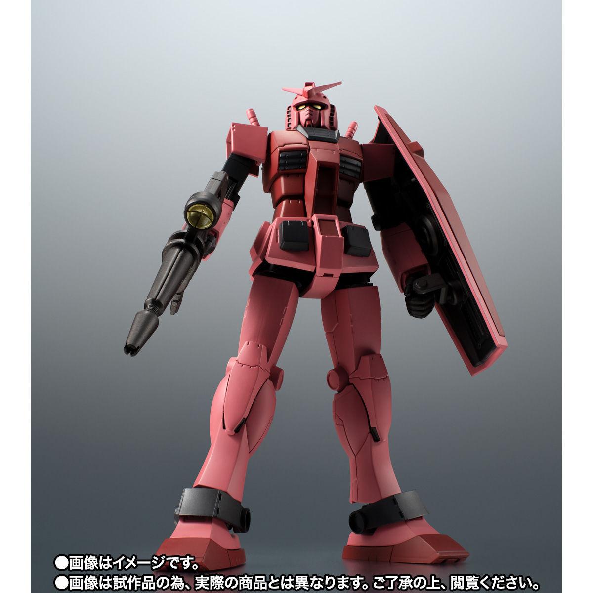 【限定販売】ROBOT魂〈SIDE MS〉『RX-78/C.A キャスバル専用ガンダム ver. A.N.I.M.E.』ギレンの野望 可動フィギュア-004