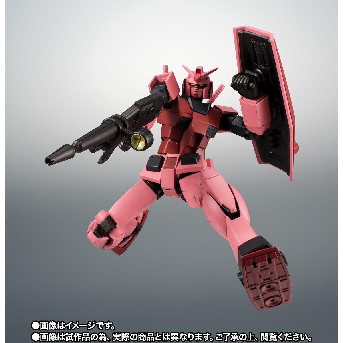 【限定販売】ROBOT魂〈SIDE MS〉『RX-78/C.A キャスバル専用ガンダム ver. A.N.I.M.E.』ギレンの野望 可動フィギュア-006