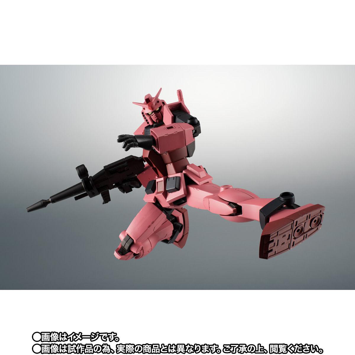 【限定販売】ROBOT魂〈SIDE MS〉『RX-78/C.A キャスバル専用ガンダム ver. A.N.I.M.E.』ギレンの野望 可動フィギュア-007
