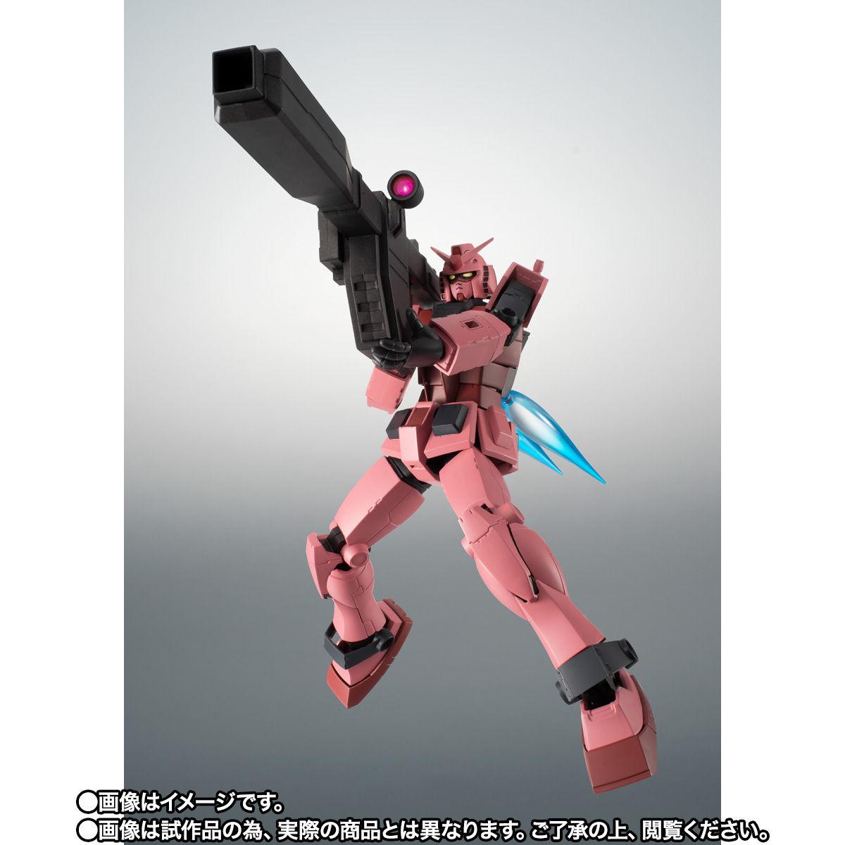 【限定販売】ROBOT魂〈SIDE MS〉『RX-78/C.A キャスバル専用ガンダム ver. A.N.I.M.E.』ギレンの野望 可動フィギュア-008