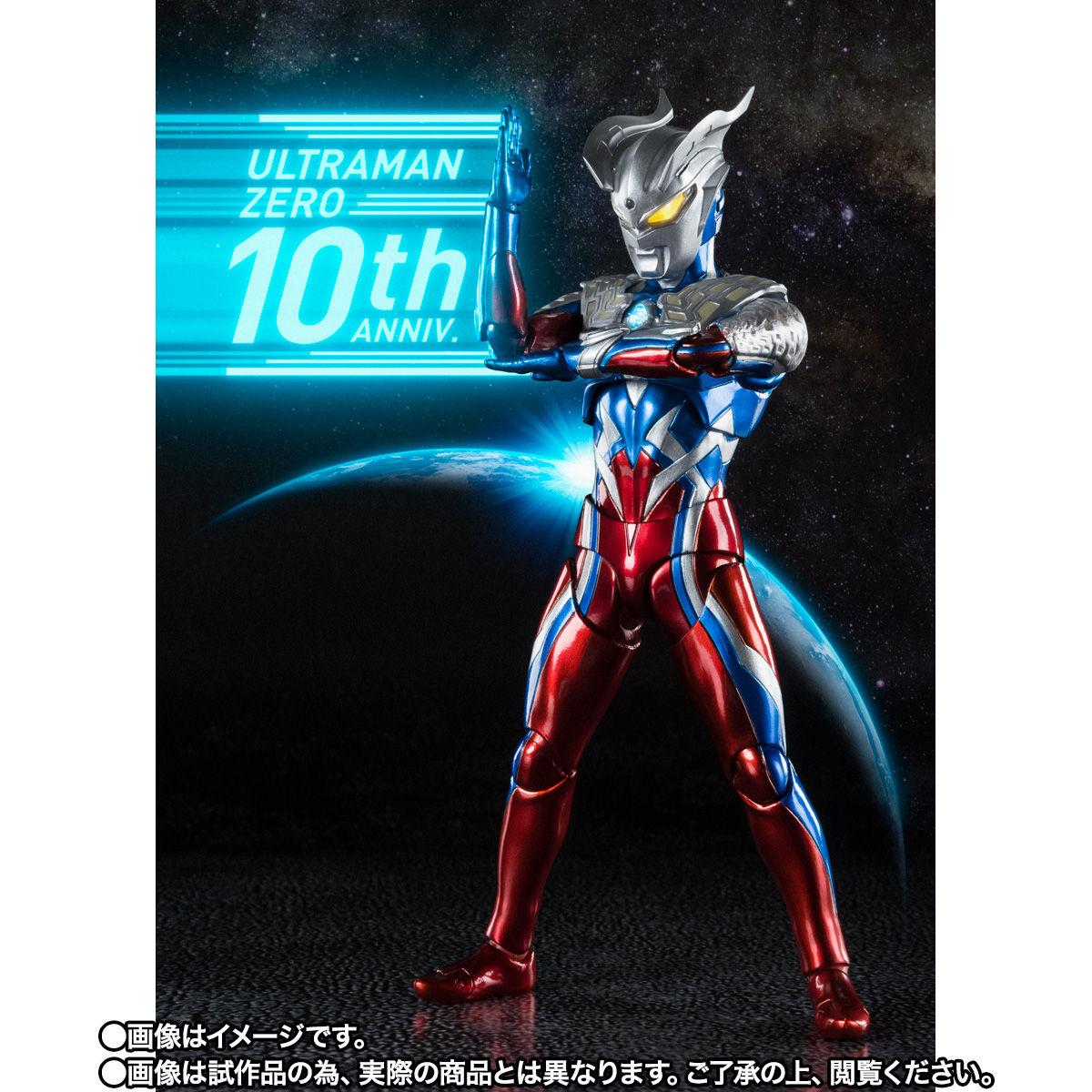 【限定販売】S.H.Figuarts『ウルトラマンゼロ 10周年 Special Color Ver.』可動フィギュア-002