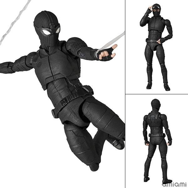 マフェックス No.125 MAFEX『スパイダーマン ステルススーツ/SPIDER-MAN Stealth Suit』可動フィギュア
