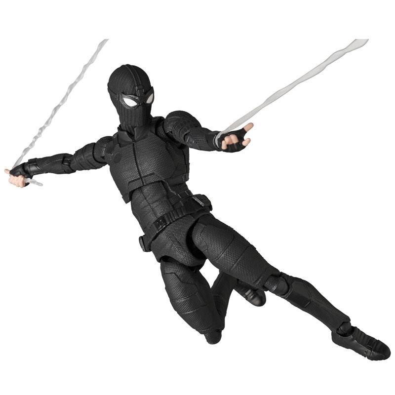 マフェックス No.125 MAFEX『スパイダーマン ステルススーツ/SPIDER-MAN Stealth Suit』可動フィギュア-001