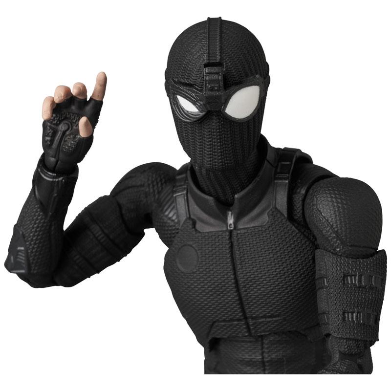 マフェックス No.125 MAFEX『スパイダーマン ステルススーツ/SPIDER-MAN Stealth Suit』可動フィギュア-002