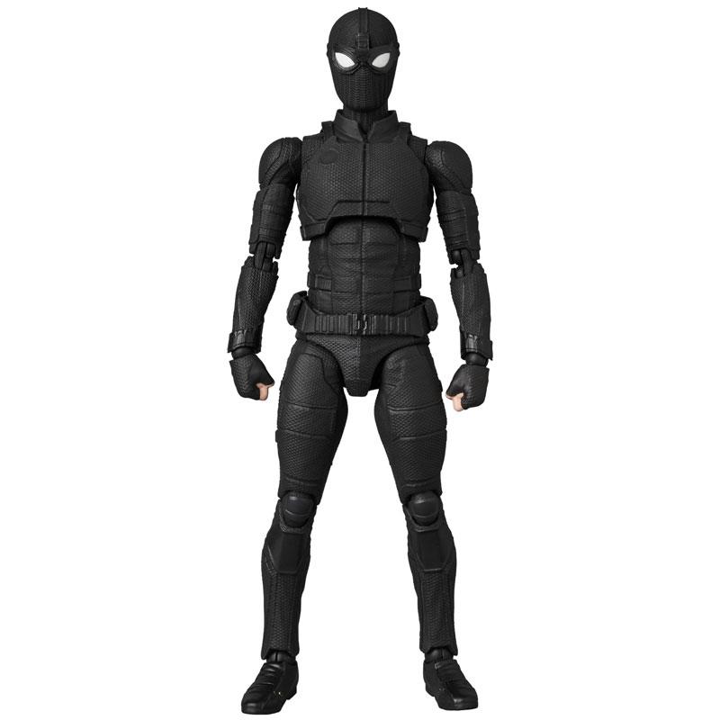 マフェックス No.125 MAFEX『スパイダーマン ステルススーツ/SPIDER-MAN Stealth Suit』可動フィギュア-004