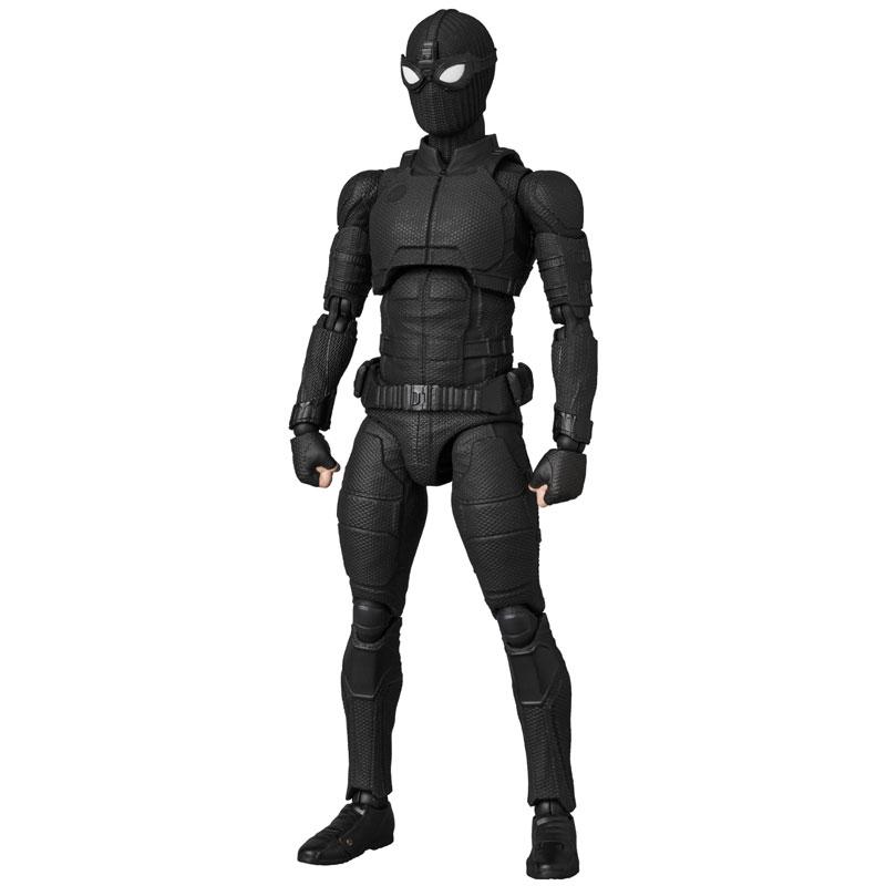 マフェックス No.125 MAFEX『スパイダーマン ステルススーツ/SPIDER-MAN Stealth Suit』可動フィギュア-005