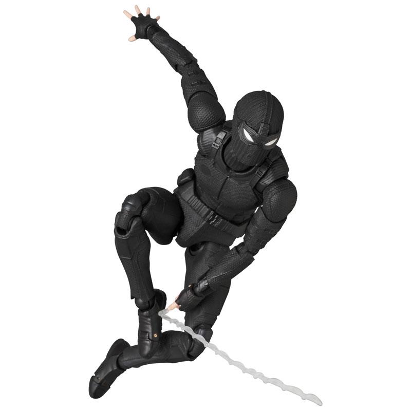 マフェックス No.125 MAFEX『スパイダーマン ステルススーツ/SPIDER-MAN Stealth Suit』可動フィギュア-007
