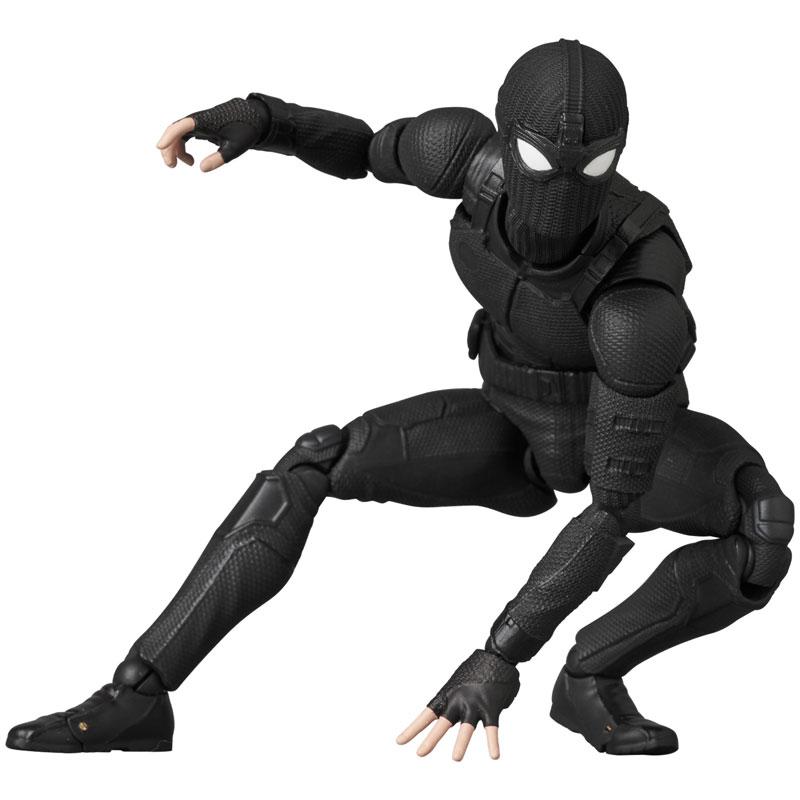マフェックス No.125 MAFEX『スパイダーマン ステルススーツ/SPIDER-MAN Stealth Suit』可動フィギュア-008