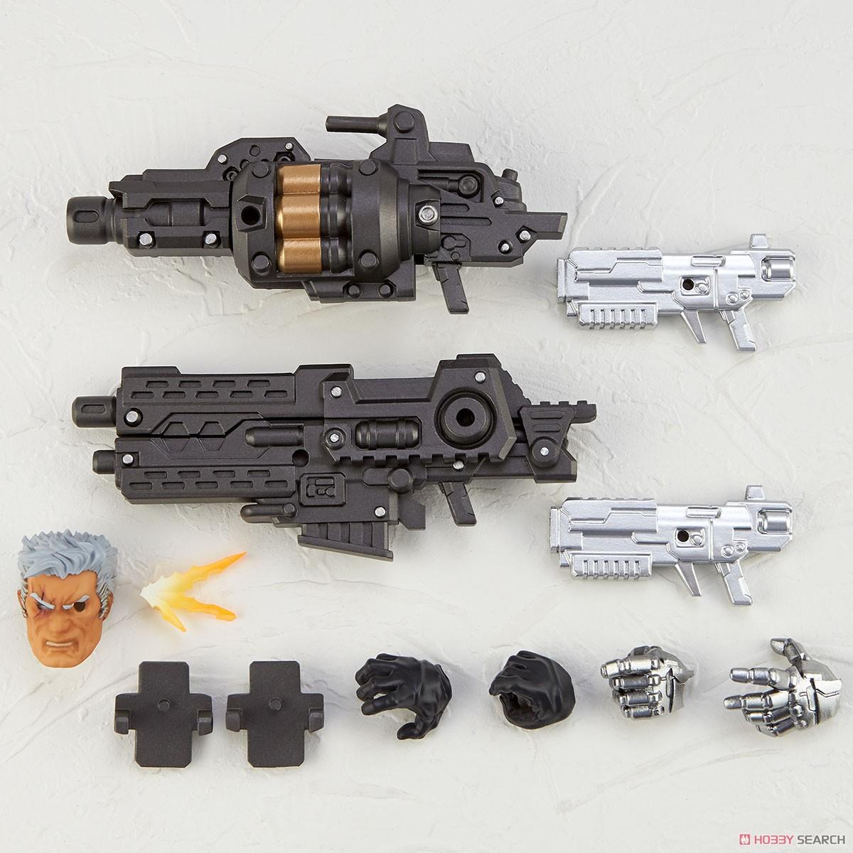 フィギュアコンプレックス アメイジング・ヤマグチ No.020『ケーブル』X-MEN 可動フィギュア-002