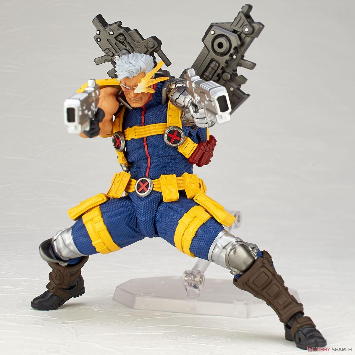 フィギュアコンプレックス アメイジング・ヤマグチ No.020『ケーブル』X-MEN 可動フィギュア-005