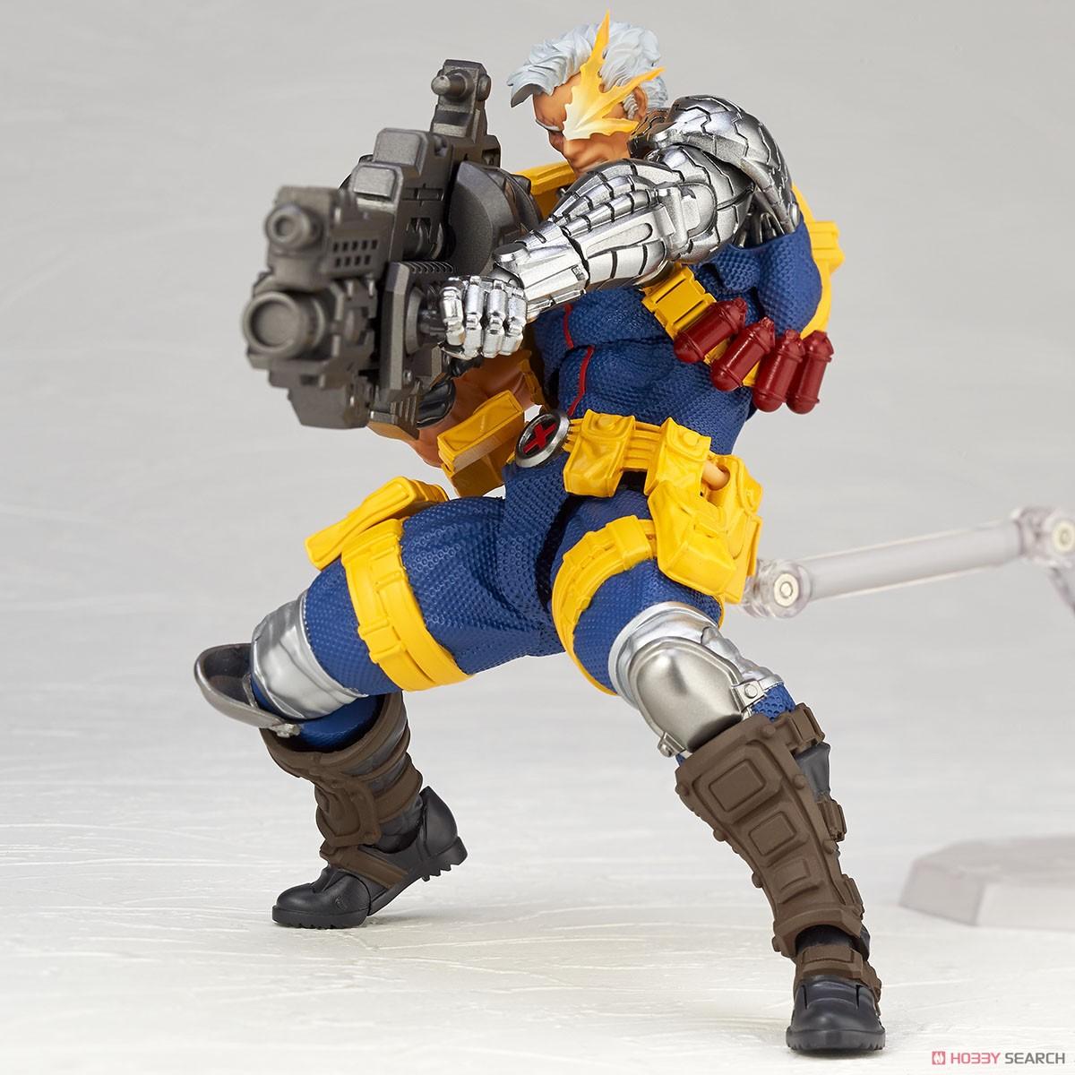 フィギュアコンプレックス アメイジング・ヤマグチ No.020『ケーブル』X-MEN 可動フィギュア-008