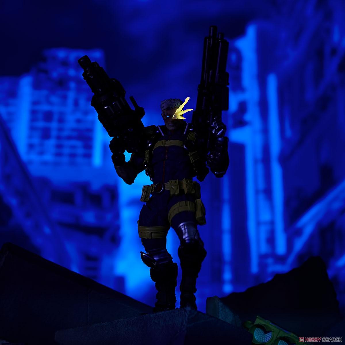 フィギュアコンプレックス アメイジング・ヤマグチ No.020『ケーブル』X-MEN 可動フィギュア-014