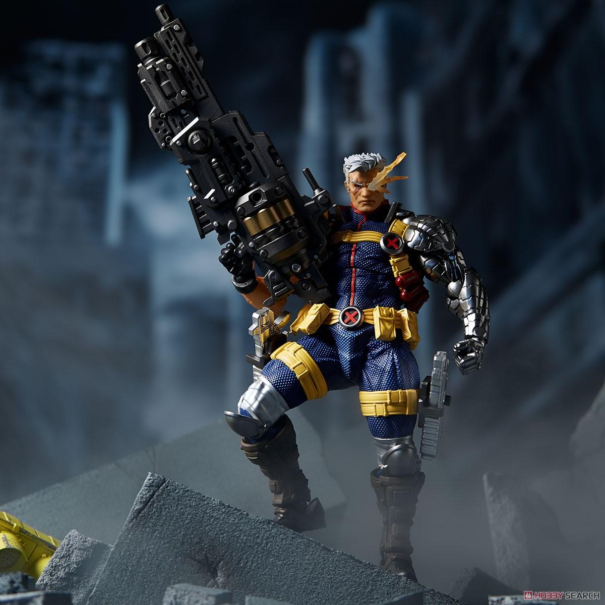 フィギュアコンプレックス アメイジング・ヤマグチ No.020『ケーブル』X-MEN 可動フィギュア-015