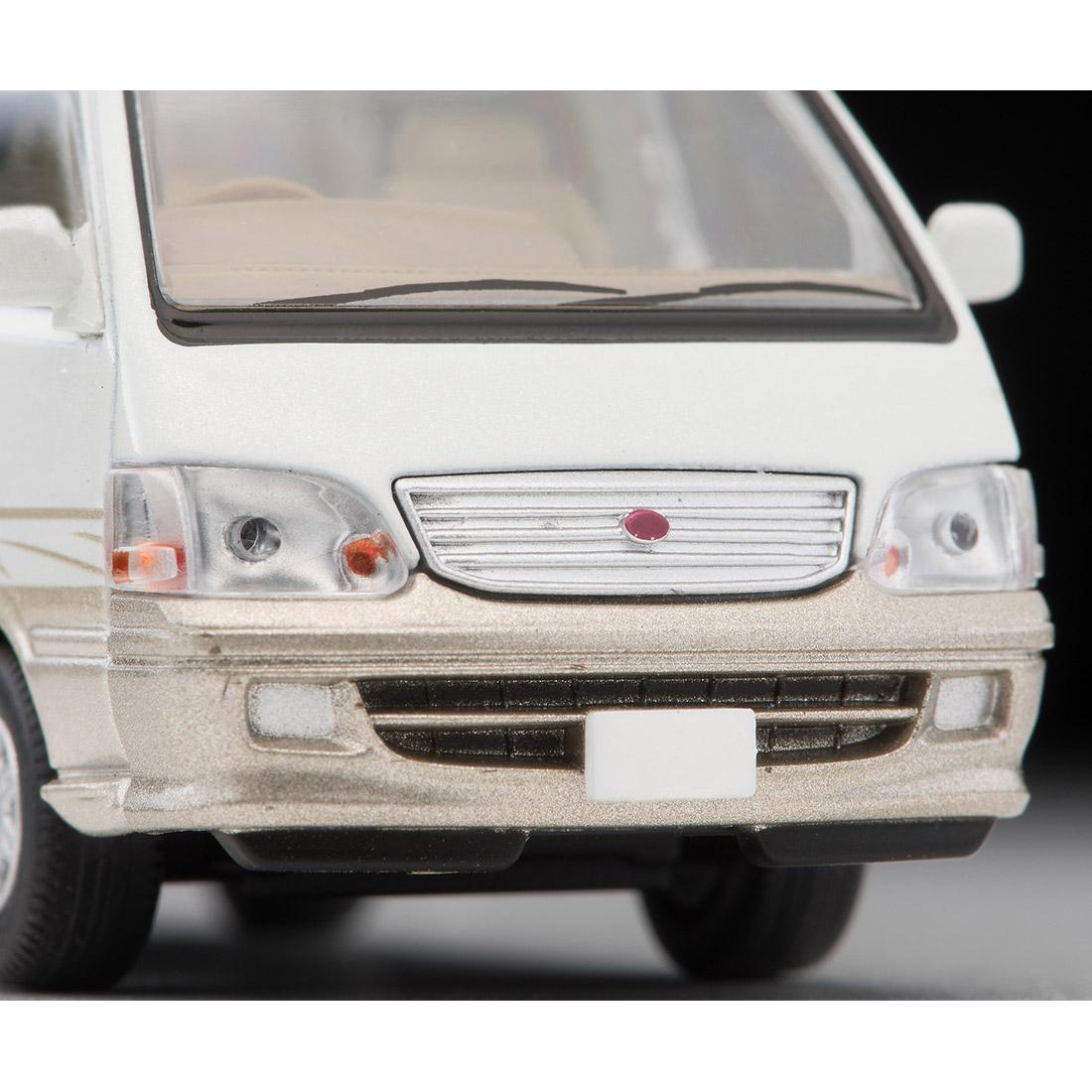 トミカリミテッド ヴィンテージ ネオ TLV-NEO『LV-N216a ハイエースワゴン リビングサルーン EX(白/ベージュ)』1/64 ミニカー-006