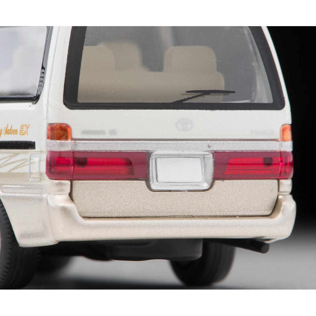 トミカリミテッド ヴィンテージ ネオ TLV-NEO『LV-N216a ハイエースワゴン リビングサルーン EX(白/ベージュ)』1/64 ミニカー-007