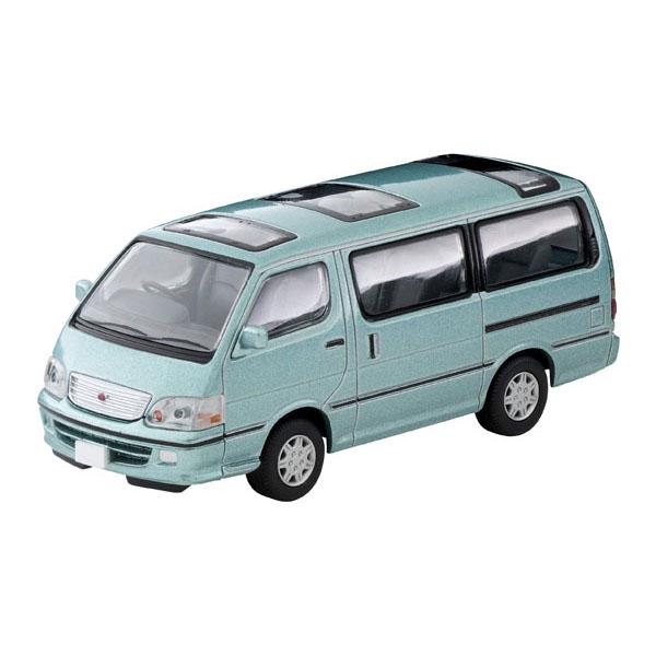 トミカリミテッド ヴィンテージ ネオ TLV-NEO『LV-N216b ハイエースワゴン スーパーカスタムG(薄緑)』1/64 ミニカー
