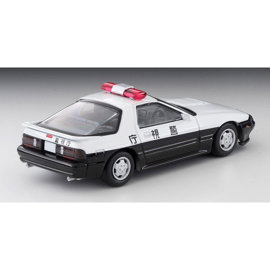 トミカリミテッドヴィンテージ ネオ『LV-N214a マツダ サバンナRX-7 パトカー(警視庁)』ミニカー-002