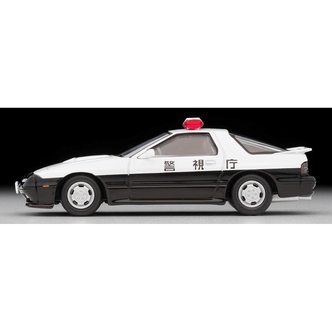 トミカリミテッドヴィンテージ ネオ『LV-N214a マツダ サバンナRX-7 パトカー(警視庁)』ミニカー-005