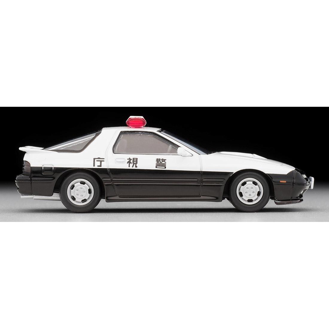 トミカリミテッドヴィンテージ ネオ『LV-N214a マツダ サバンナRX-7 パトカー(警視庁)』ミニカー-006