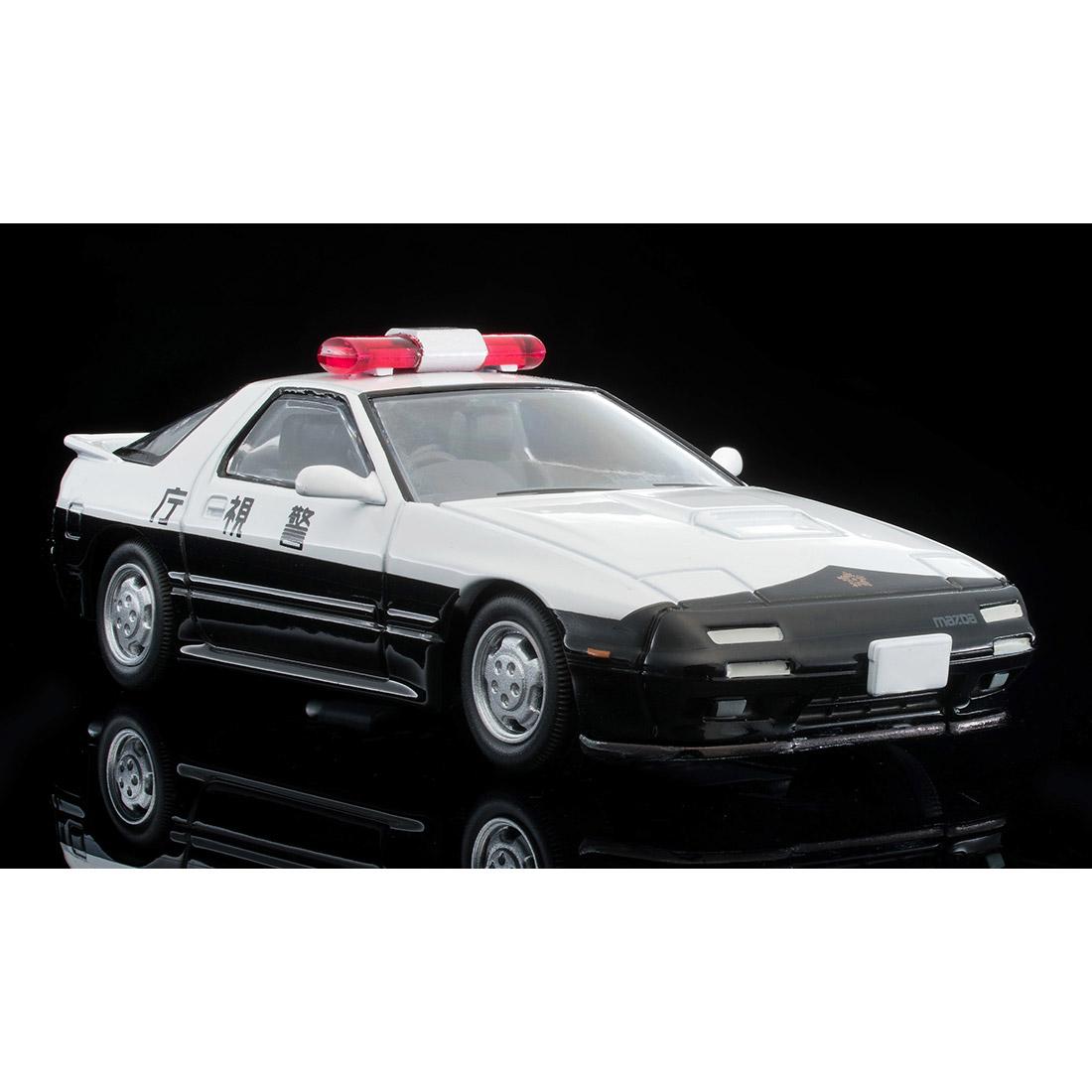 トミカリミテッドヴィンテージ ネオ『LV-N214a マツダ サバンナRX-7 パトカー(警視庁)』ミニカー-008