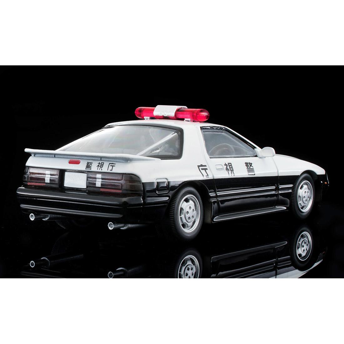 トミカリミテッドヴィンテージ ネオ『LV-N214a マツダ サバンナRX-7 パトカー(警視庁)』ミニカー-009