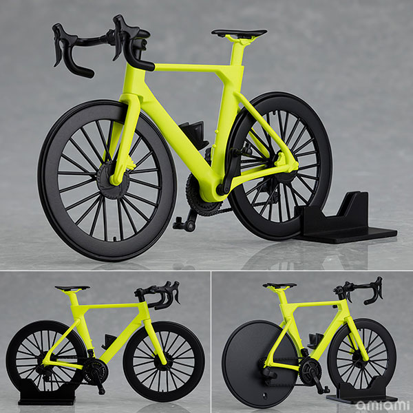 figma Styles『ロードバイク(ライムグリーン)』figma+PLAMAX プラモデル
