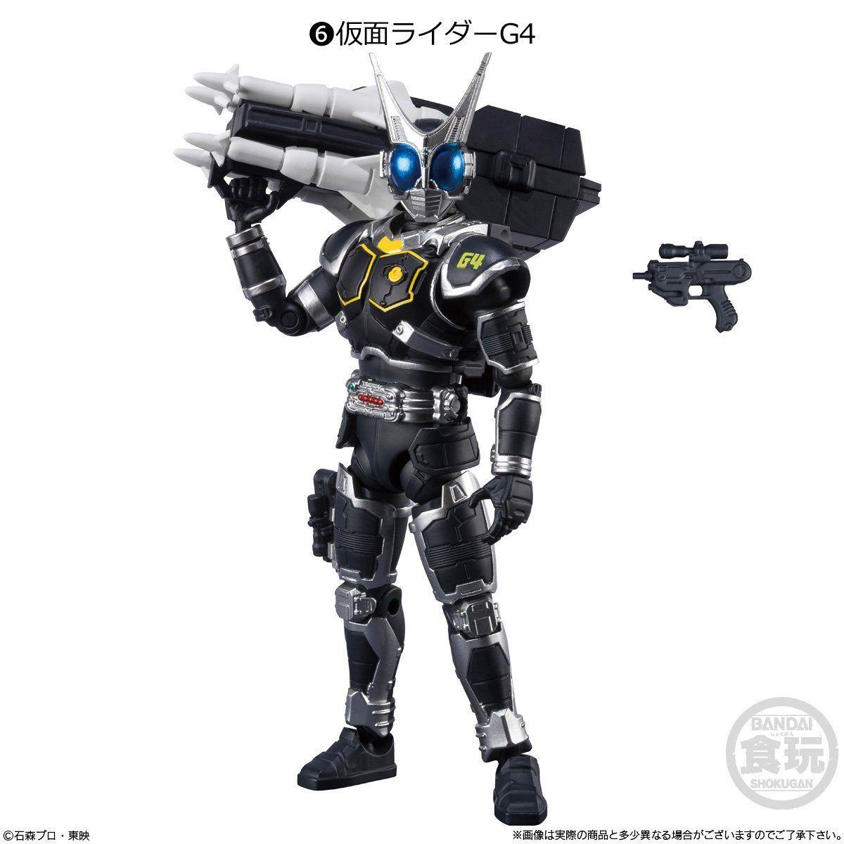 【食玩】SHODO-O『仮面ライダー4』可動フィギュア 10個入りBOX-007