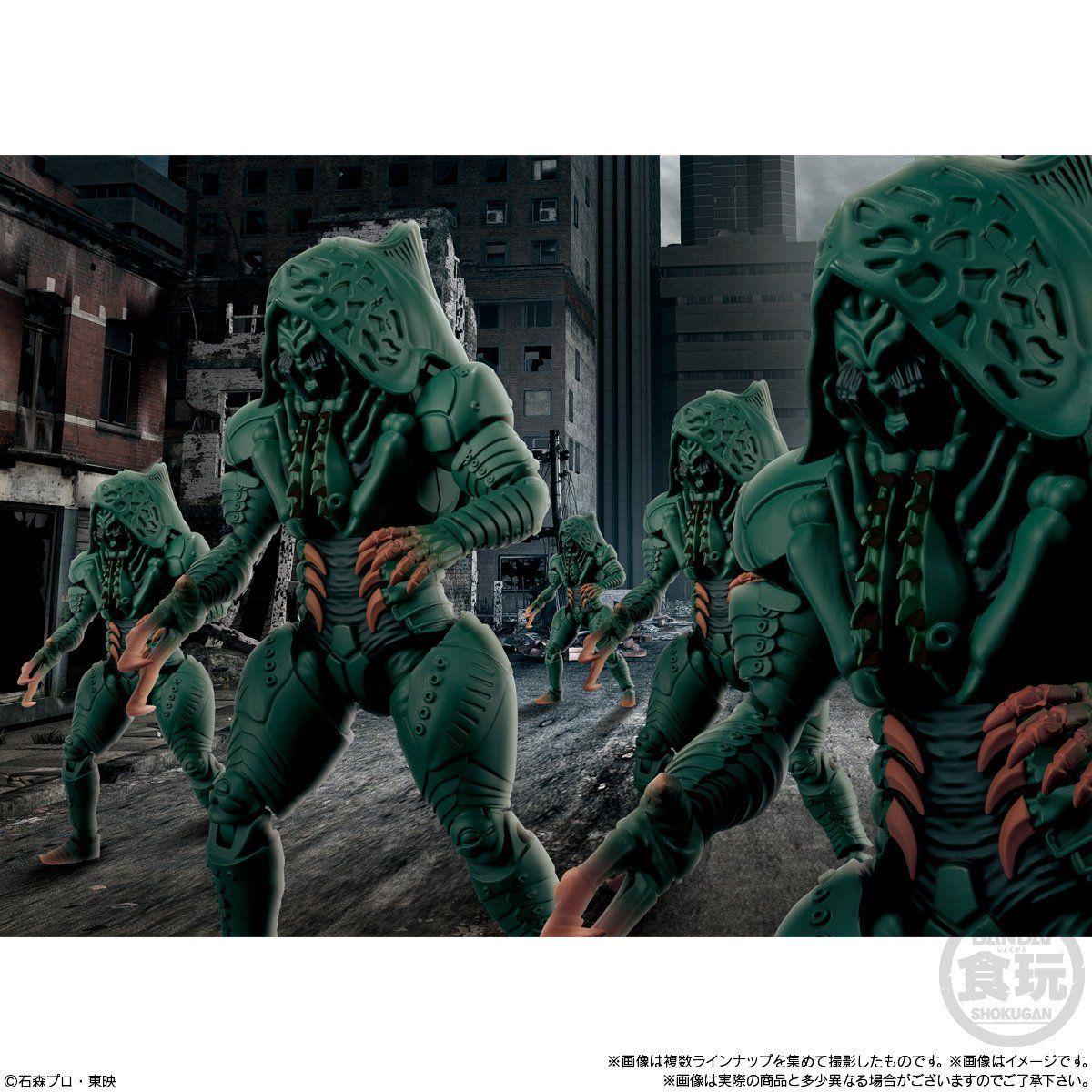 【食玩】SHODO-O『仮面ライダー4』可動フィギュア 10個入りBOX-008