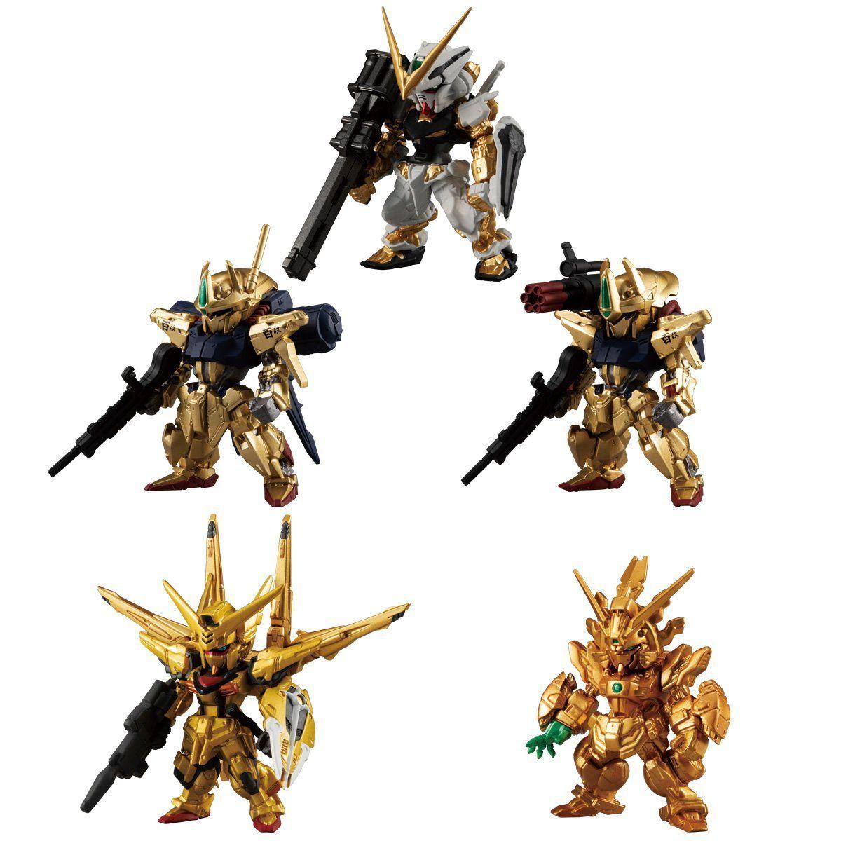 【食玩】機動戦士ガンダム『FW GUNDAM CONVERGE GOLD EDITION』デフォルメフィギュア 8個入りBOX-001