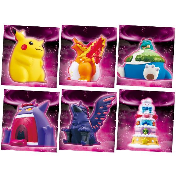 【食玩】ポケモン『キョダイマックスポケモンキッズ』可動フィギュア 10個入りBOX-001