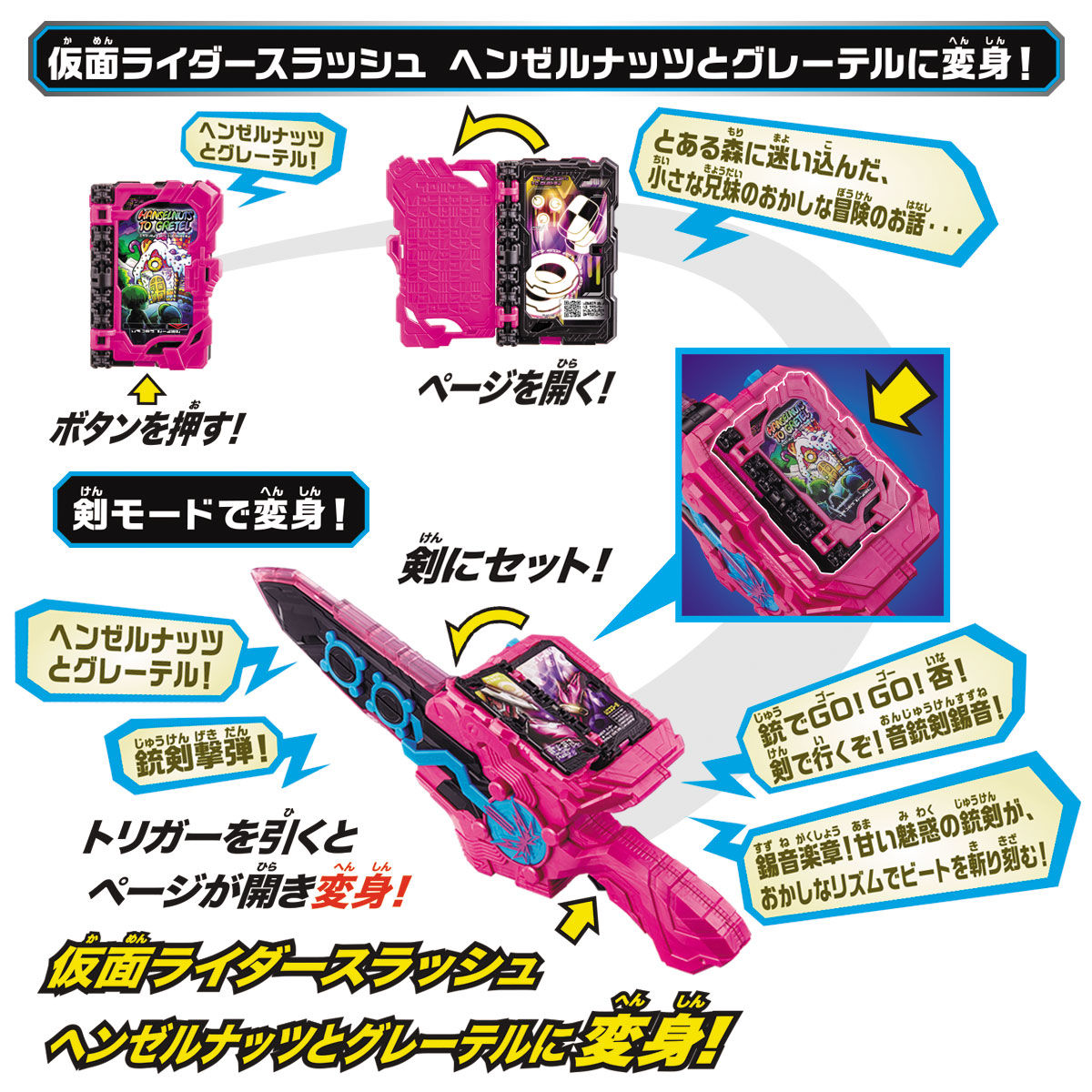 変身聖剣『DX音銃剣錫音』仮面ライダースラッシュ 変身なりきり-005