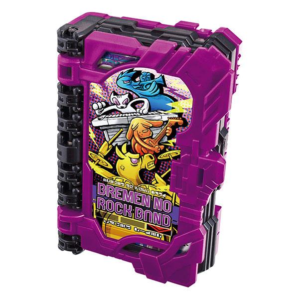 仮面ライダーセイバー『DXブレーメンのロックバンドワンダーライドブック』変身なりきり