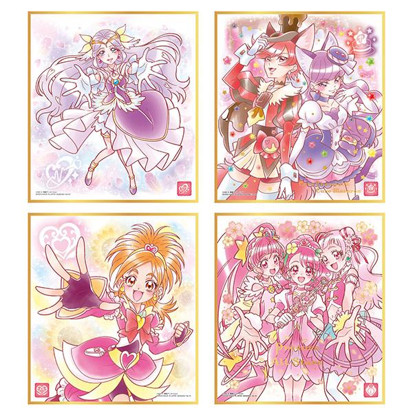 【食玩】プリキュア『プリキュア 色紙ART3』10個入りBOX